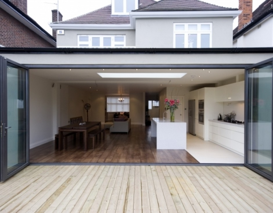 Garage conversions lime tree designs planning for Dining room extension ideas
